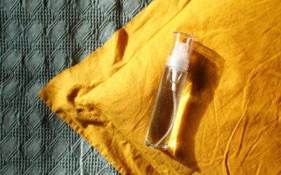 Lavendelspray: Kissenspray mit Lavendelöl selbermachen